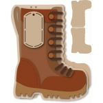 combat boot a7 top fold card