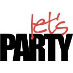 'let's party' phrase