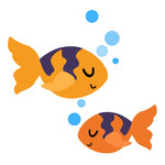 fish couple