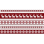 christmas sweater borders