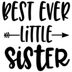 best ever little sister arrow quote