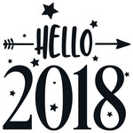 hello 2018 arrow quote
