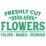 freshly cut flowers