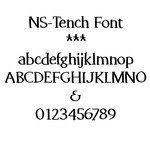 ns-tench font