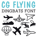cg flying dingbats