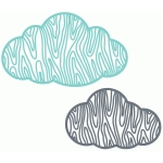 woodgrain clouds set