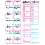 blogger monthly tracker labels