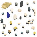 beachcombing stickers