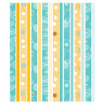 yellow and teal modern abstract washi planner stickers- eclp
