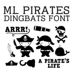 ml pirate dingbats