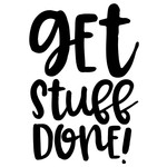 get stuff done quote