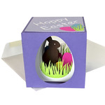 easter bunny cube card