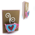 3d coffee cup card