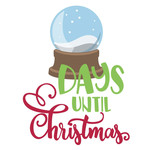 days until christmas phrase
