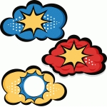 superhero clouds