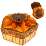 sunflower 3d box