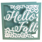 hello fall card