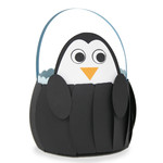 cute penguin basket