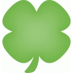 calendar icon - st. patrick's day clover