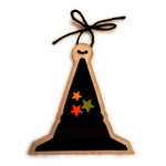 halloween witch hat ornament tree