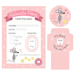 imprimibles ratoncito perez - tooth fairy certificate