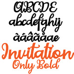 pn invitation only bold