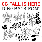 cg fall is here dingbats