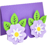 cute flowers card
