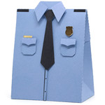 police uniform box