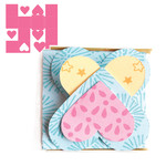 fold out heart mini album