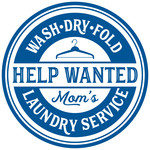 mom's laundry help wanted