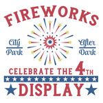 fireworks display sign