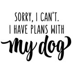sorry i can't - dog phrase