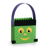 halloween frankenstein treat bag