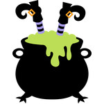 witch cauldron