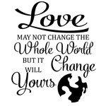 love change the world