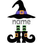 personalized name witch