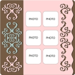 page layout - template 4