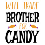 trade brother for candy