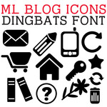 ml blog icons dingbats