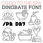 cg go to the spa dingbats