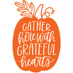 gather here with grateful hearts pumpkin