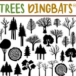 sg trees dingbats