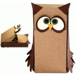 owl slider hatch treat box