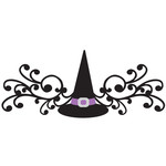 witch hat flourish