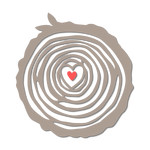 love tree rings cut out