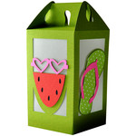 watermelon - flip flop summer lantern