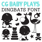 cg baby plays dingbats