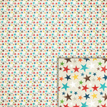 bright colorful stars background paper