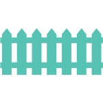 'picket' fence